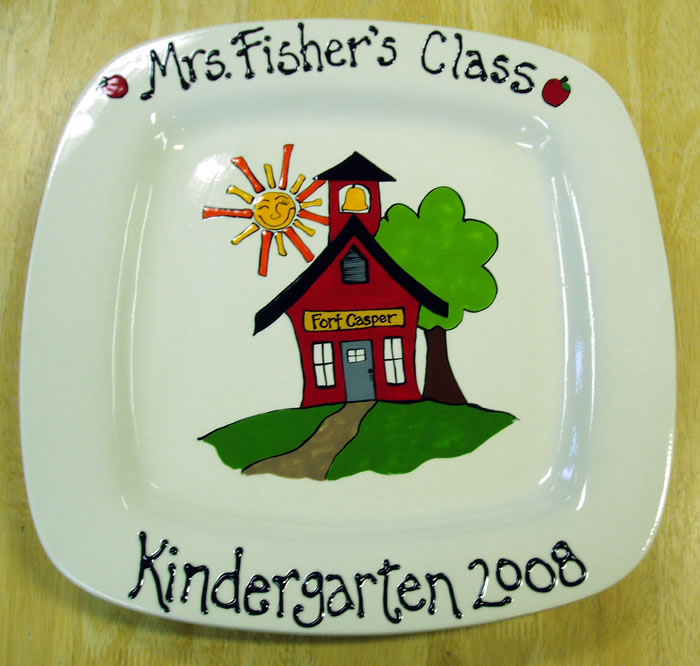 Custom Pottery Painting Casper Wy 1