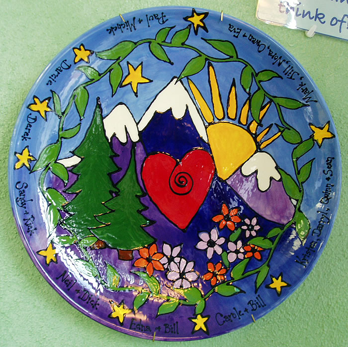 Custom Pottery Painting Casper Wy 2