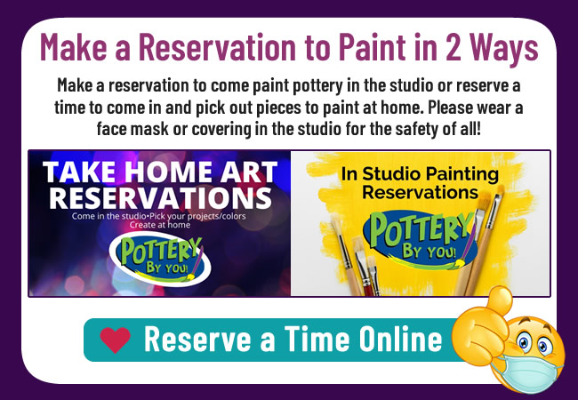 grab and go paint kits pottery by you casper wy